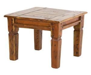 TAVOLINO IN legno massello naturale FARM - 60x45x60 cm