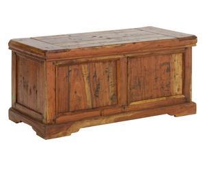 CASSApanca in legno naturale farm - 100x48x46 cm