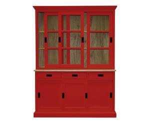 Credenza Moderna Rossa : Credenza colorata: dettagli vivaci in legno dalani e ora westwing