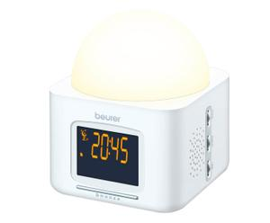 sveglia luminosa con accensione graduale wl 30 - bianco