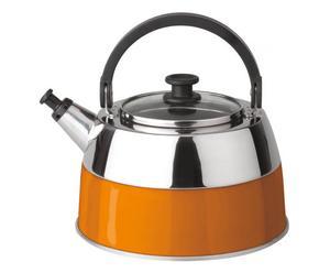 Bollitore in acciaio inox Virgo Orange - 2,5 lt