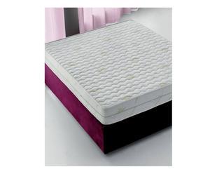 materasso 1 piazza e 1/2 in schiuma memory aloe - 120x18x190 cm