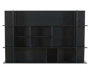 Parete a giorno in legno tiffany - 120x75x23 cm