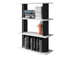 Libreria componibile in melamina con gambe replay - 80x113x32 cm