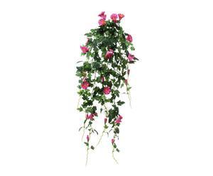 Petunia cadente artificiale in poliestere - h80 cm