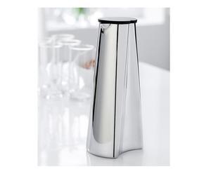 brocca per vino in acciaio wine tower - 1 l