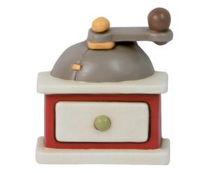 Decoro a macinacaffe' in ceramica maman - 10x11x4 cm