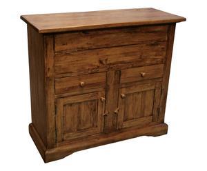 Madia in legno noce - 115x102x48 cm