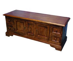 Mobile porta tv in legno noce - 150x56x51 cm