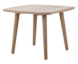 Tavolo quadrato in rovere SCANDINAVIA naturale - 60x47x60 cm