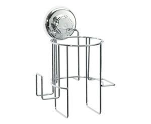 SUPPORTO in acciaio PER ASCIUGACAPELLI Best Lock - 16x20x14 cm