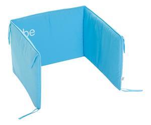 Paracolpi per lettino in cotone be bumper blu - 40x60 cm