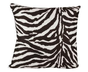 Cuscino arredo in 100% cotone imbottito zebrato - 60x60 cm
