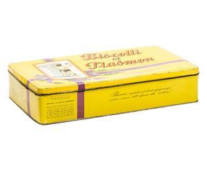 Scatola in latta Plasmon - 33x7x18 cm