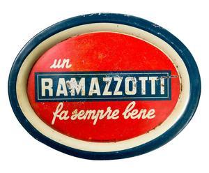 Vassoio in latta Ramazzotti pezzo unico - 24x32 cm