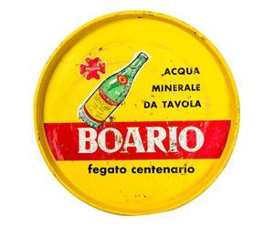 Vassoio in latta Boario pezzo unico - d 22 cm