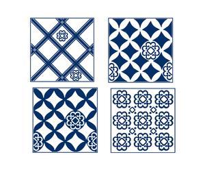 Set di 4 piastrelle adesive in vinile Azul - 20x20 cm