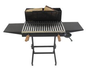 Barbecue in ferro e acciaio a legna Amiata - 60x90x60 cm