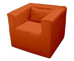 Poltrona letto Gorgona arancio - 80x80 cm