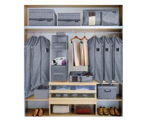 set guardaroba grey - 8 pezzi