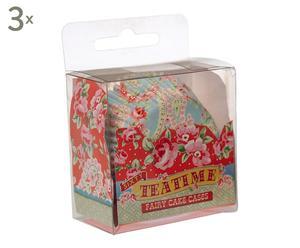 Set di 3 confezioni di pirottini in carta Flower - 2x5x6 cm
