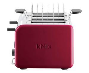 Tostapane 4 fette multifunzione Kmix rosso - TTM041