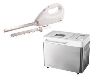 Macchina per il pane BM350 con coltello elettrico KN450