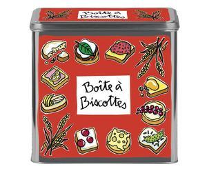 Scatola Porta Biscotti Biscottes - 19X19X19 Cm