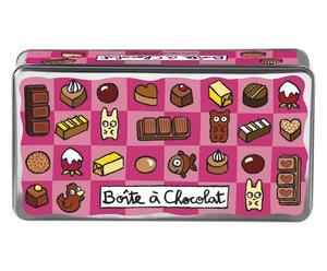 Scatola Porta Cioccolatini Boite - 21X8X11 Cm