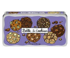 Scatola Porta Biscotti Cookies - 30X9X15 Cm