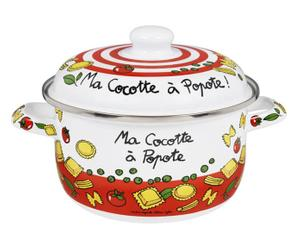 Cocotte In Metallo Ma Cocotte - D 22/H 16 Cm