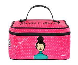 Beauty case in cotone Beauté pre classe - 23x13x18 cm