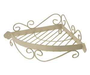 MENSOLa ANGOLare in ferro Elegance - 39x11x28 cm