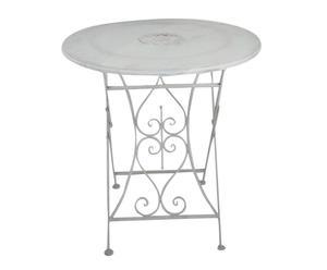 Tavolo richiudibile in ferro Rose - 75x70 cm