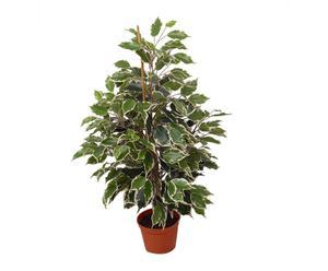 pianta artificiale con vaso exotica - 67x35 cm