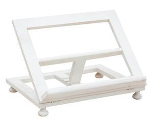 Leggio pieghevole in faggio bianco - 35x49x10 cm