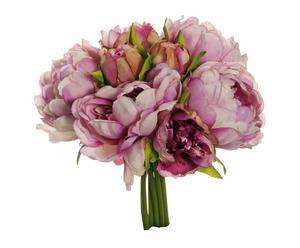 bouquet di peonie rosa - 5x33x5 cm
