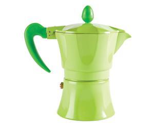 CAFFETTIERA IN ALLUMINIO AROMA VERDE - 3 TAZZE