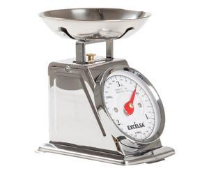 Bilancia da cucina in acciaio Vintage grigio - 3 kg
