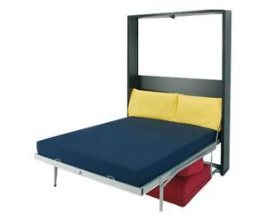Mobile con divano e letto a scomparsa verticale William - 1 piazza e mezzo