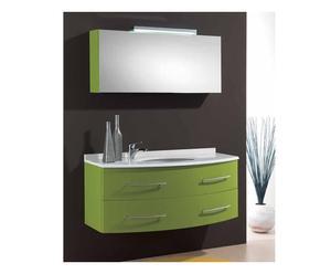 composizione bagno perseo - verde