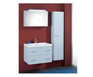 composizione bagno aries - bianco opaco