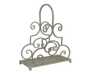 Portariviste in ferro Louise - 35x18x40 cm