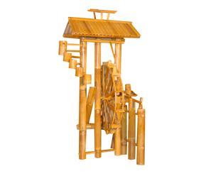 Fontanella da giardino in bamboo Mulino - 75x136x60 cm