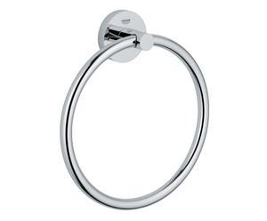 Porta salviette ad anello in metallo Essential