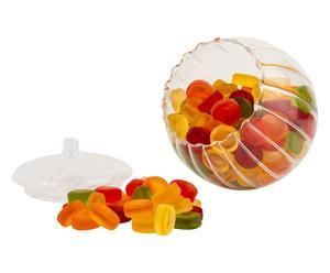 caramelle mega roulette frutta - confezione da 40 sticker