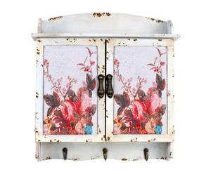 cassetta portachiavi da parete poeme - 43x10x46 cm