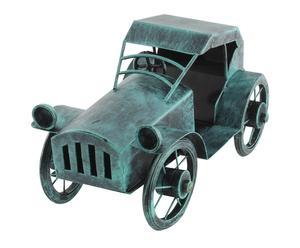 Modellino da tavolo in metallo Antique car verde - 27x16x14 cm