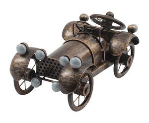 Modellino da tavolo in metallo Antique car bronzo - 30x11x16 cm