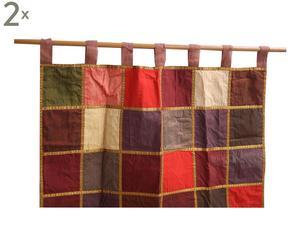 SET di 2 tende in organza Adrianne - 120X270 cm